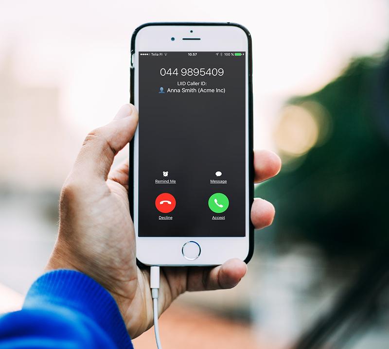 Haluatko nähdä kuka CRM-kontaktisi soittaa sinulle?